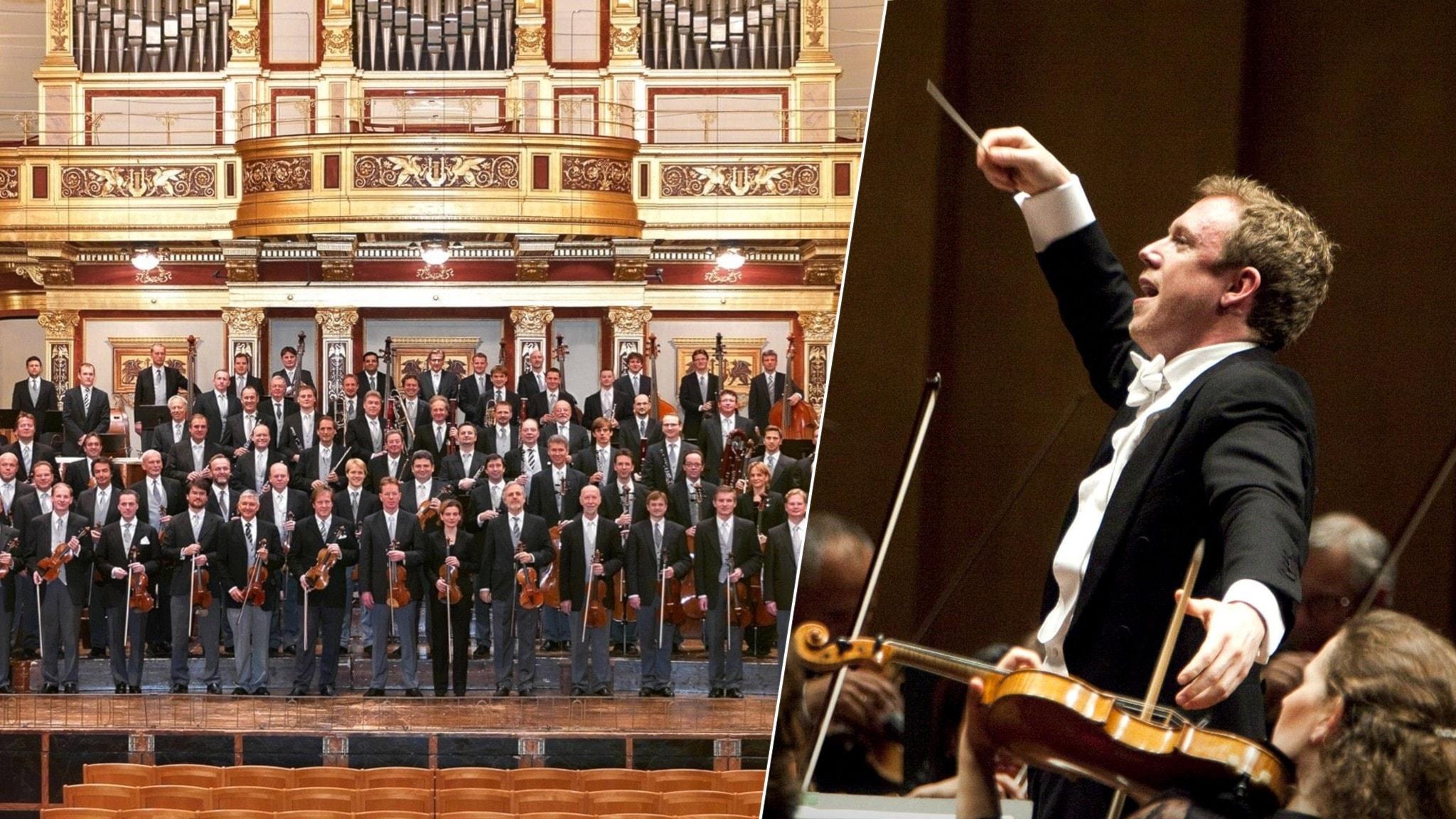 Bild: Daniel Harding leder Wienerfilharmonikerna i Mahlers symfoni nr 1.