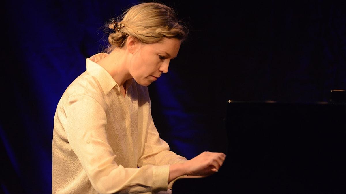 Den norska pianisten Ingfrid Breie Nyhus.