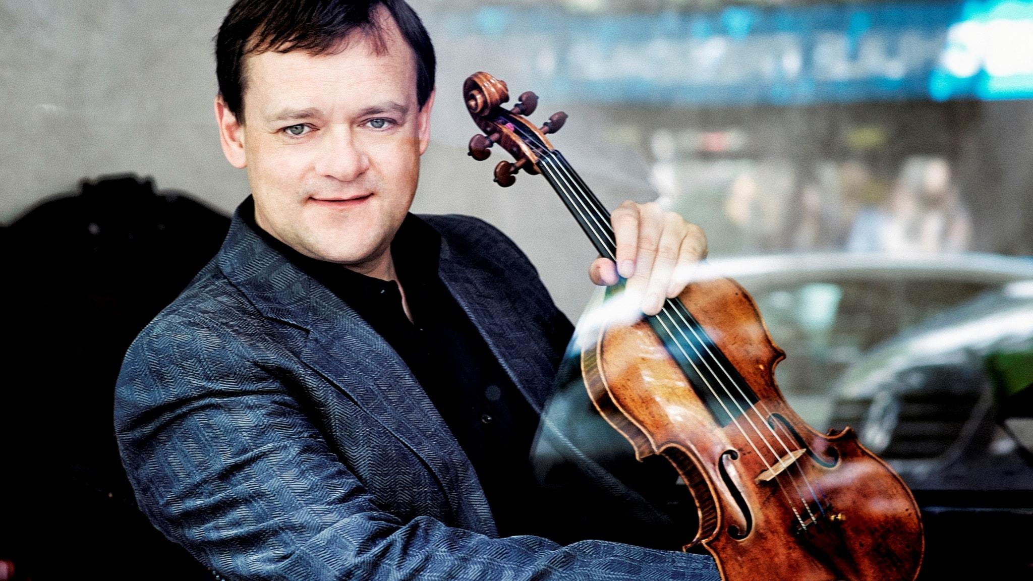 Den tyska violinisten Frank Peter Zimmermann.