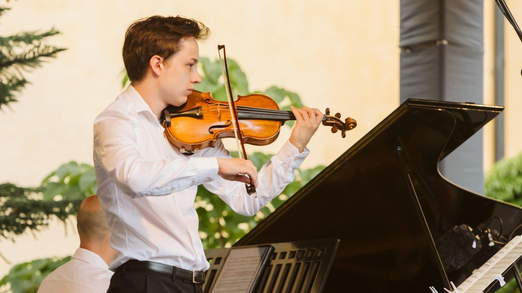 Johan Dalene spelar Sibelius och Prokofjev