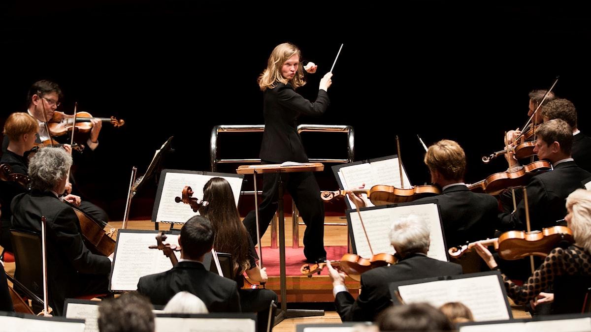Litauiska Mirga Grazinytè-Tyla är chefdirigent för Birminghams symfoniorkester.