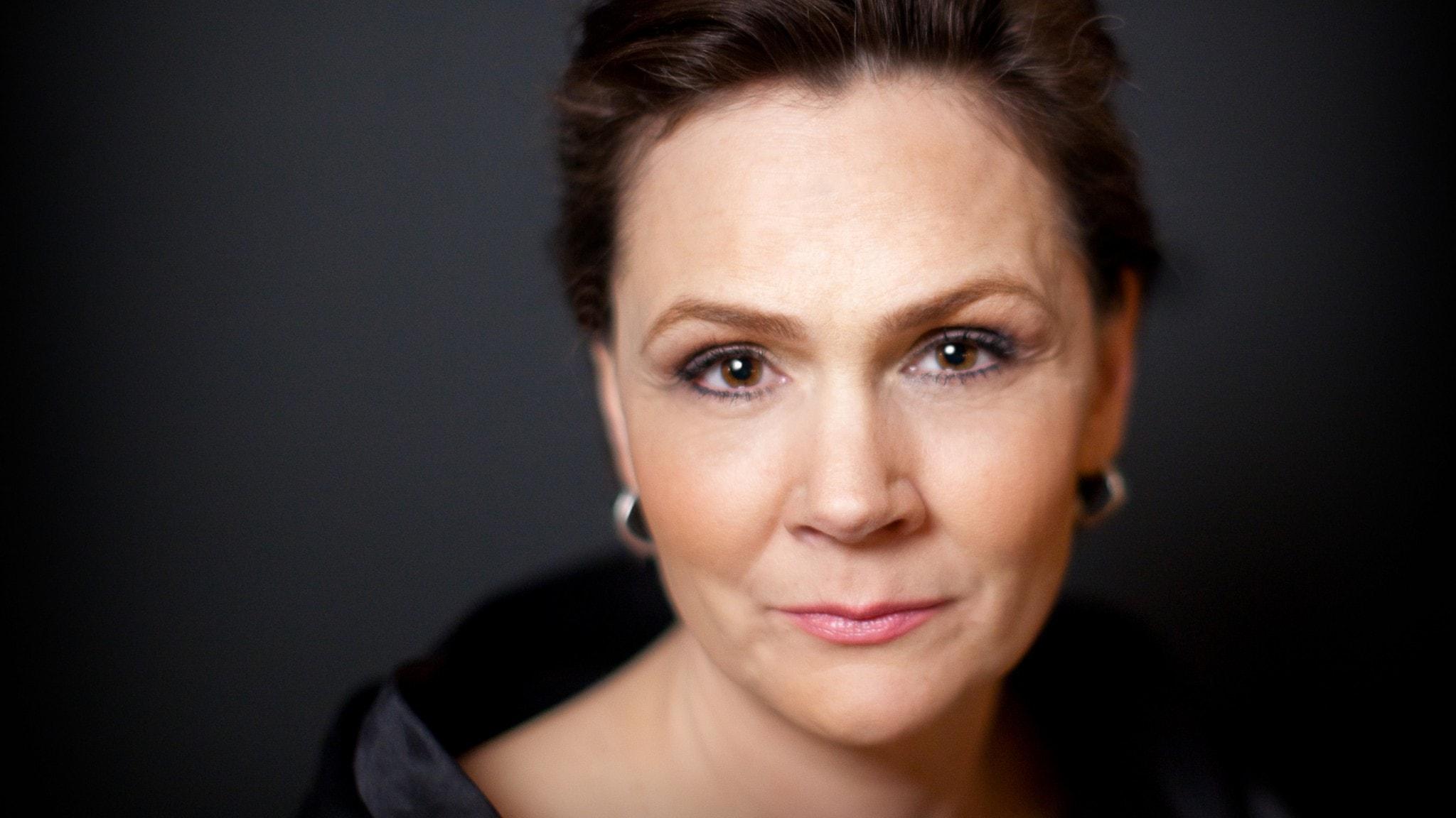 Bild: Anna Larsson, sångerska.