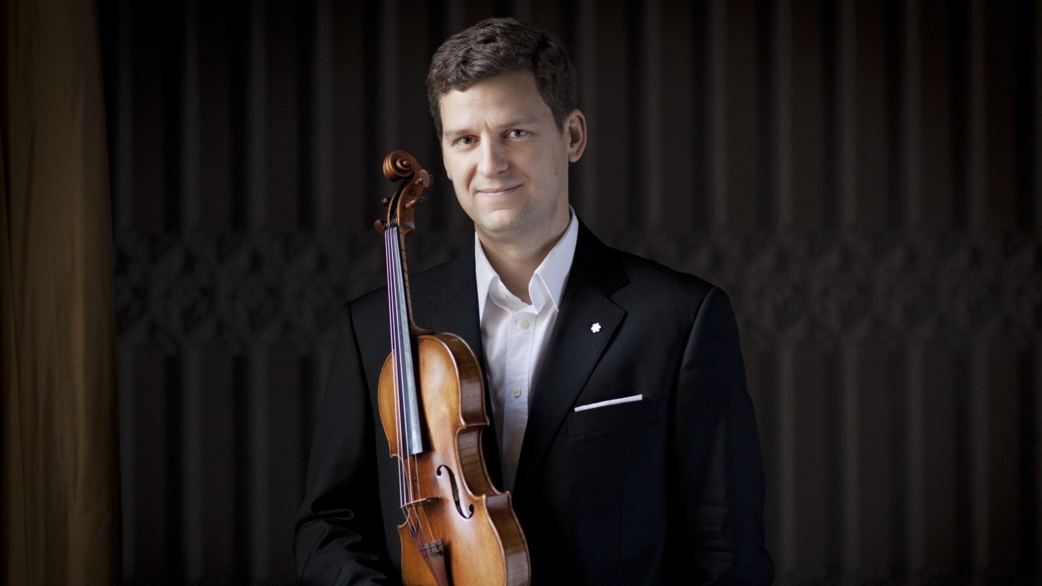 """Barbers violinkonsert och Waltons mäktiga """"Belsazars gästabud"""""""