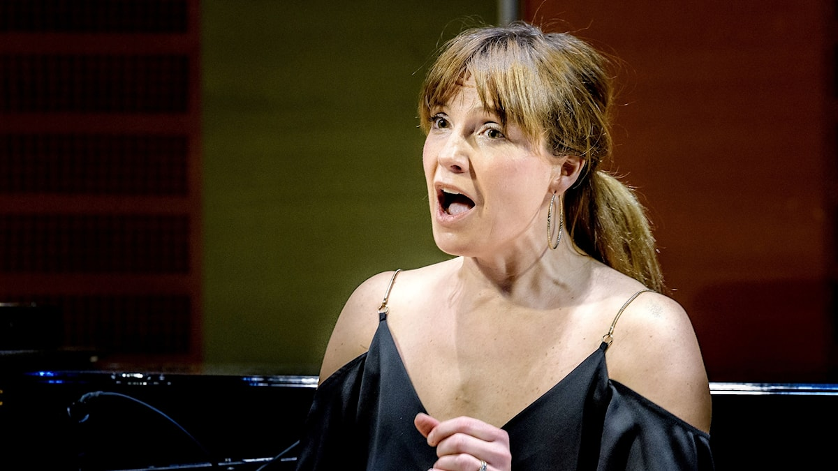 Den brittiska sopranen Claire Booth