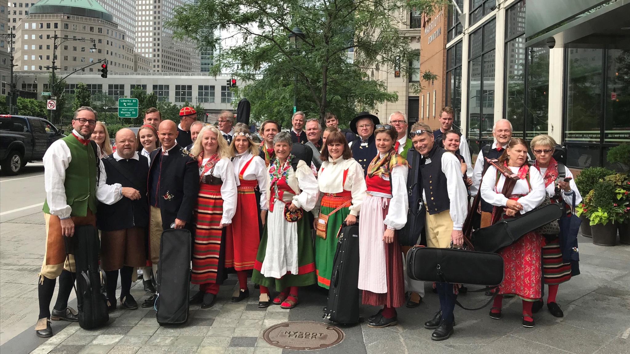 KONSERT: Amerikaorkestern – dalaspelmännen som drog till New York
