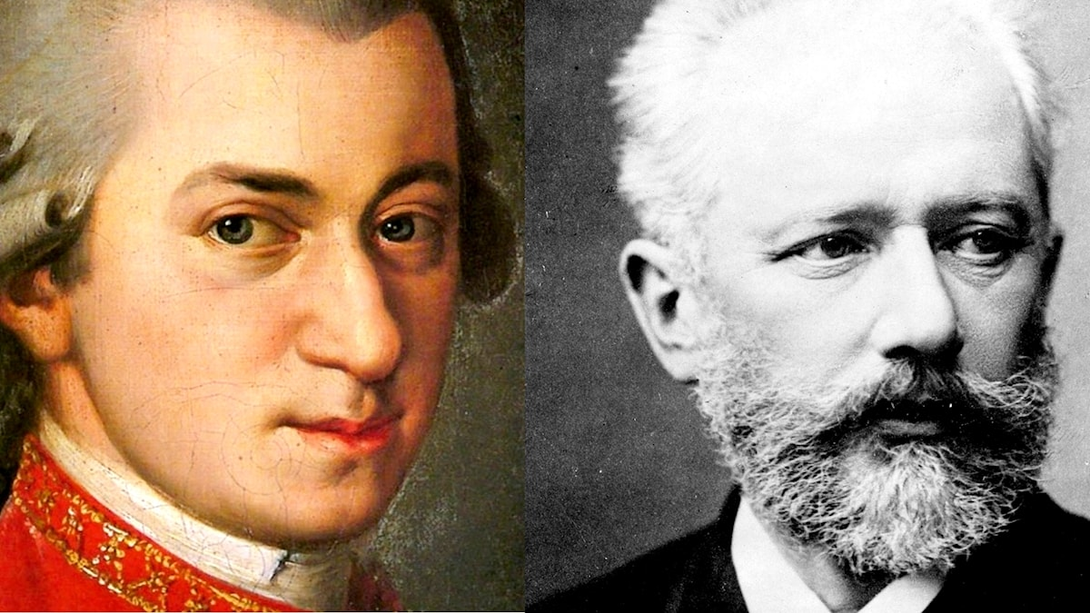 Mozart och Tjajkovskij