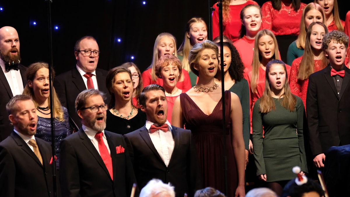 Julkonsert från Berwaldhallen