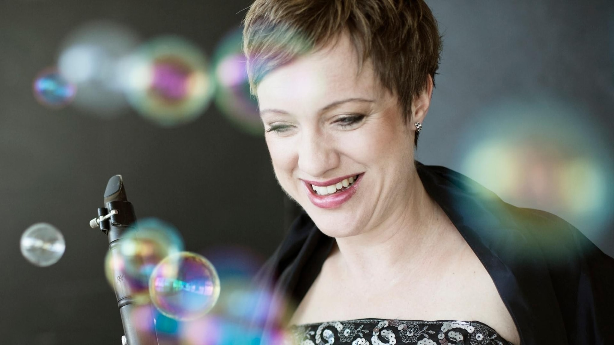 Bild: Karin Dornbusch, konstnärlig ledare och klarinettist