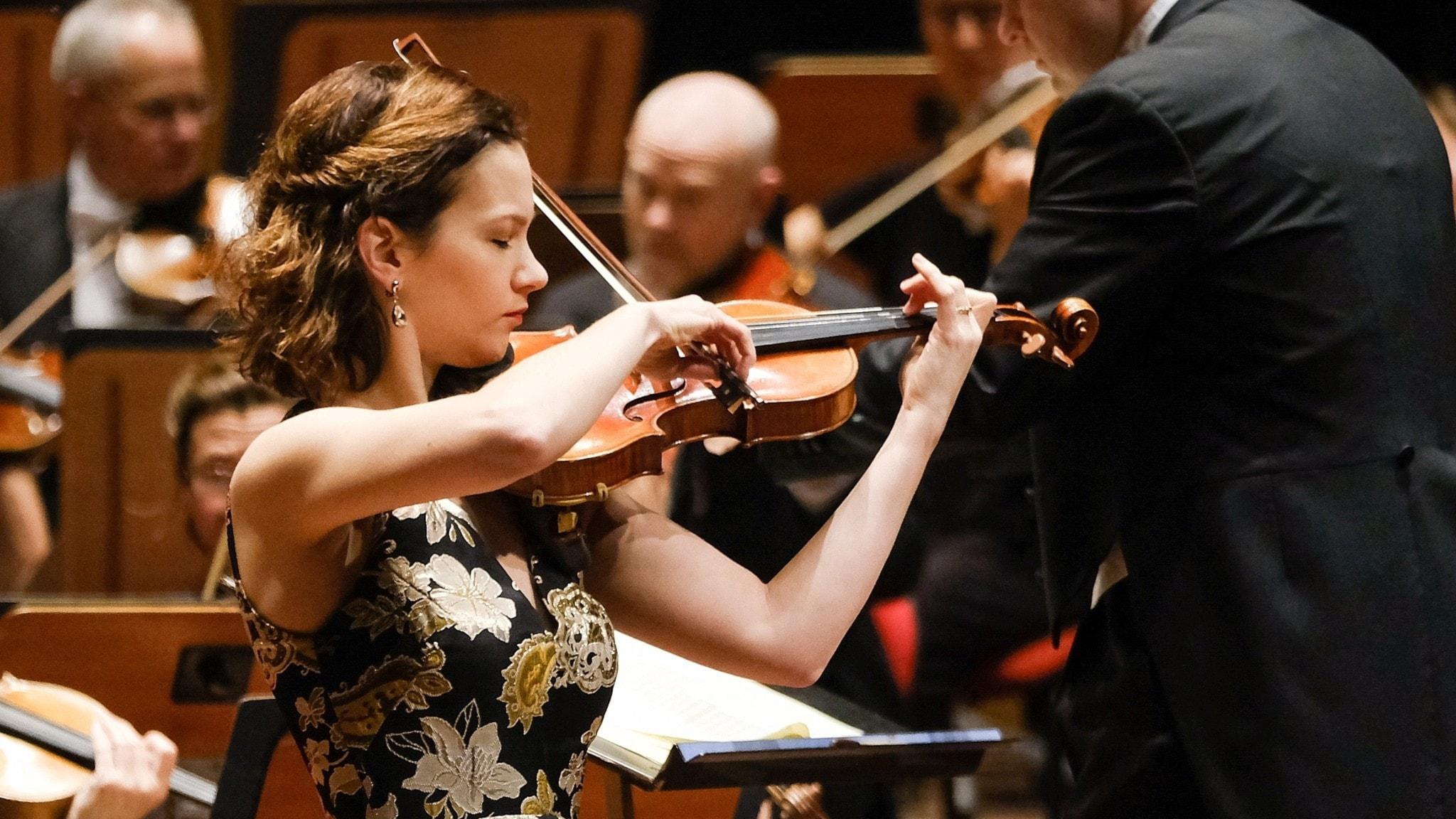 Hilary Hahn spelar Vieuxtemps och Bach