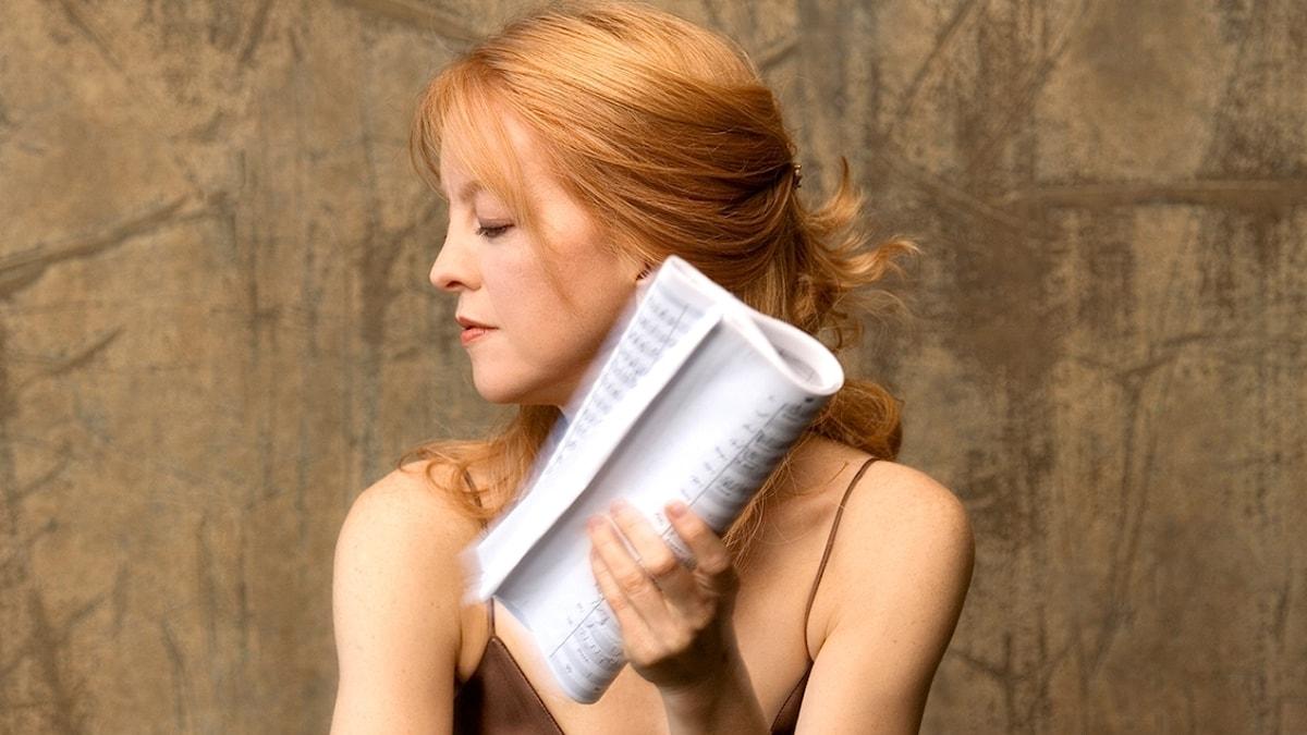Den amerikanska kompositören Maria Schneider.