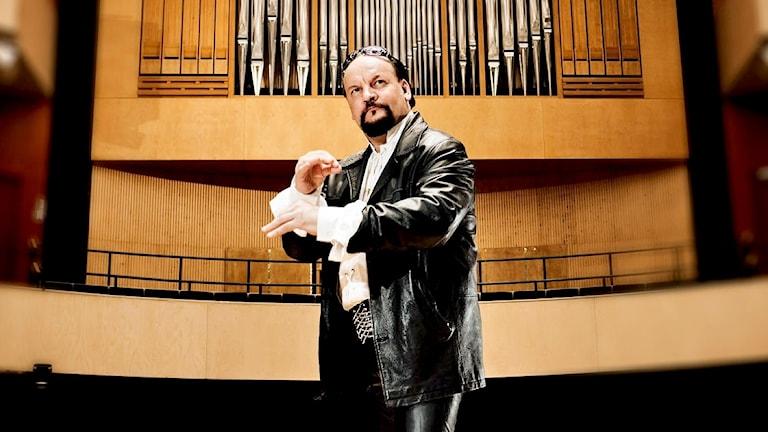 Den finländska organisten Kalevi Kiviniemi.