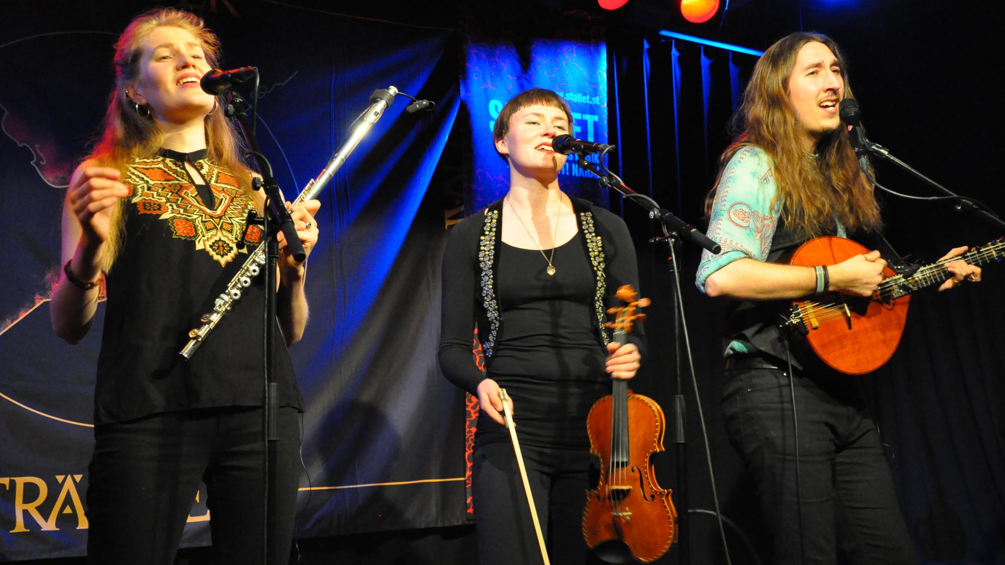KONSERT: Fränder – hårdrockarna som blev folkmusiker