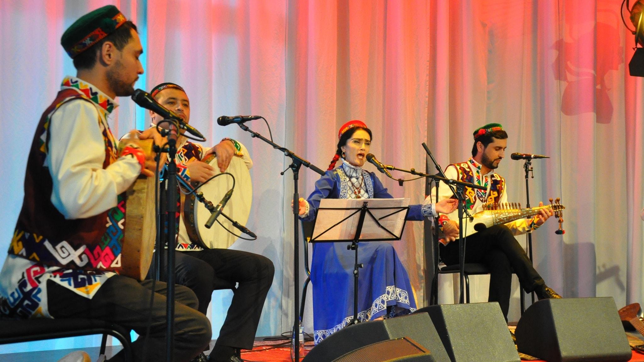 KONSERT: Musik från Tadzjikistan med Badakhshan Ensemble