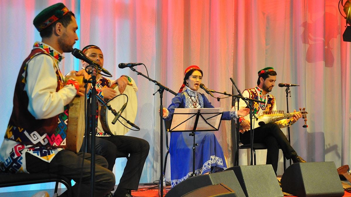 Bild: Badakhshan Ensemble.