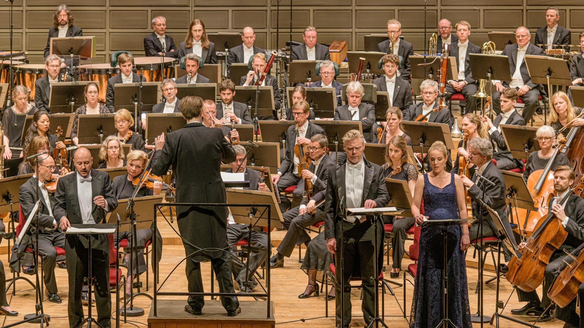 KONSERT: Kungliga filharmonikerna uruppför Daniel Börtz