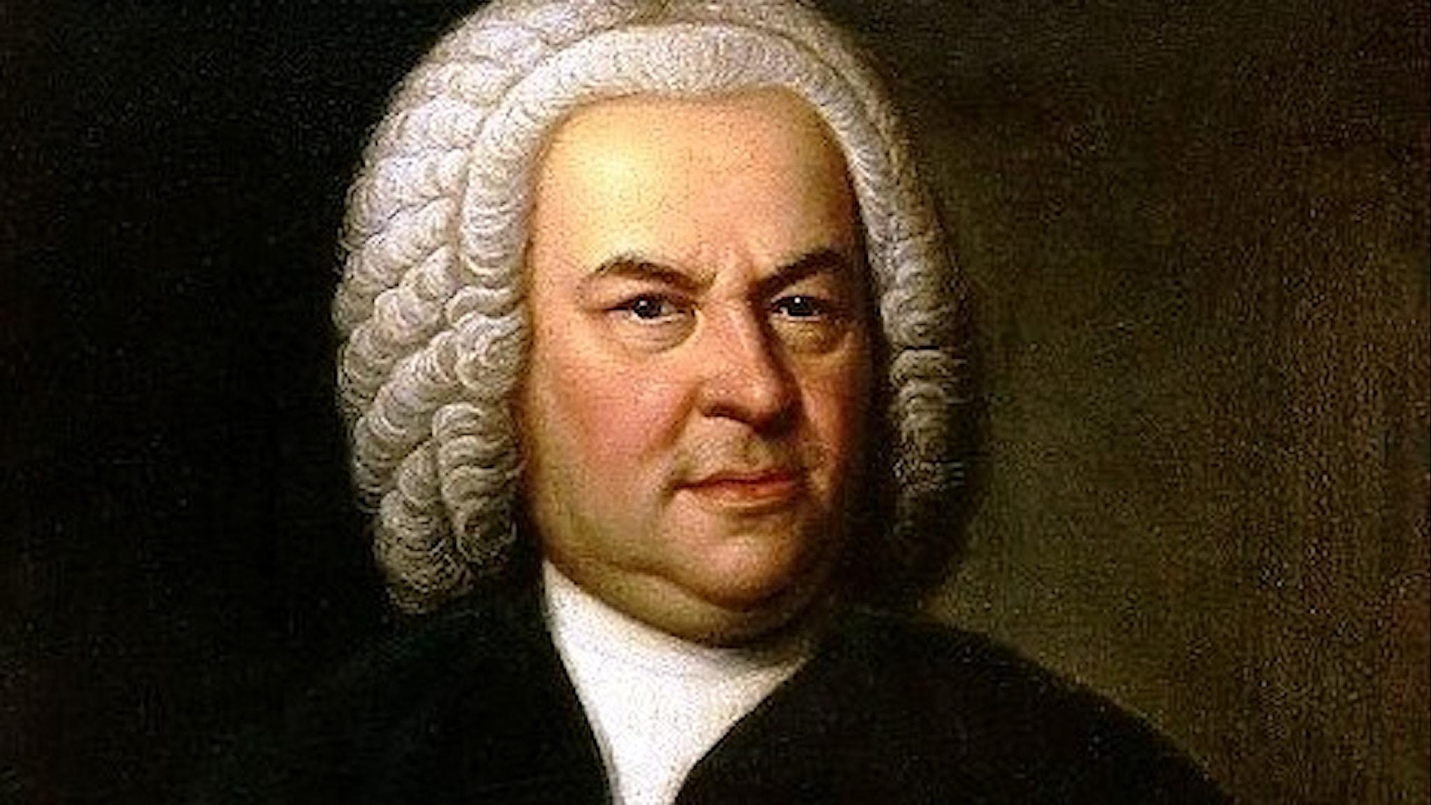 Bild: Johann Sebastian Bach.