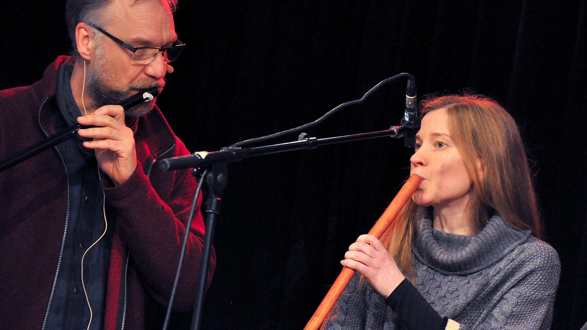 Jonas Simonsson och Kirsi Ojala
