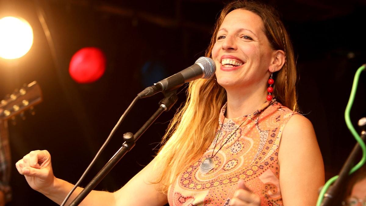 Brittiska singer-songwritern Marth Tilston.
