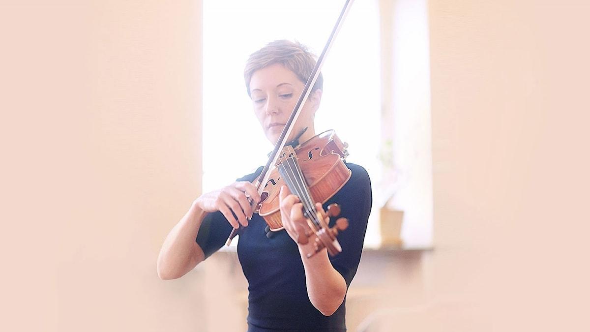 Tuula Fleivik Nurmo är en av musikerna i Göteborgs symfoniker som bilder en trio för denna konsert.