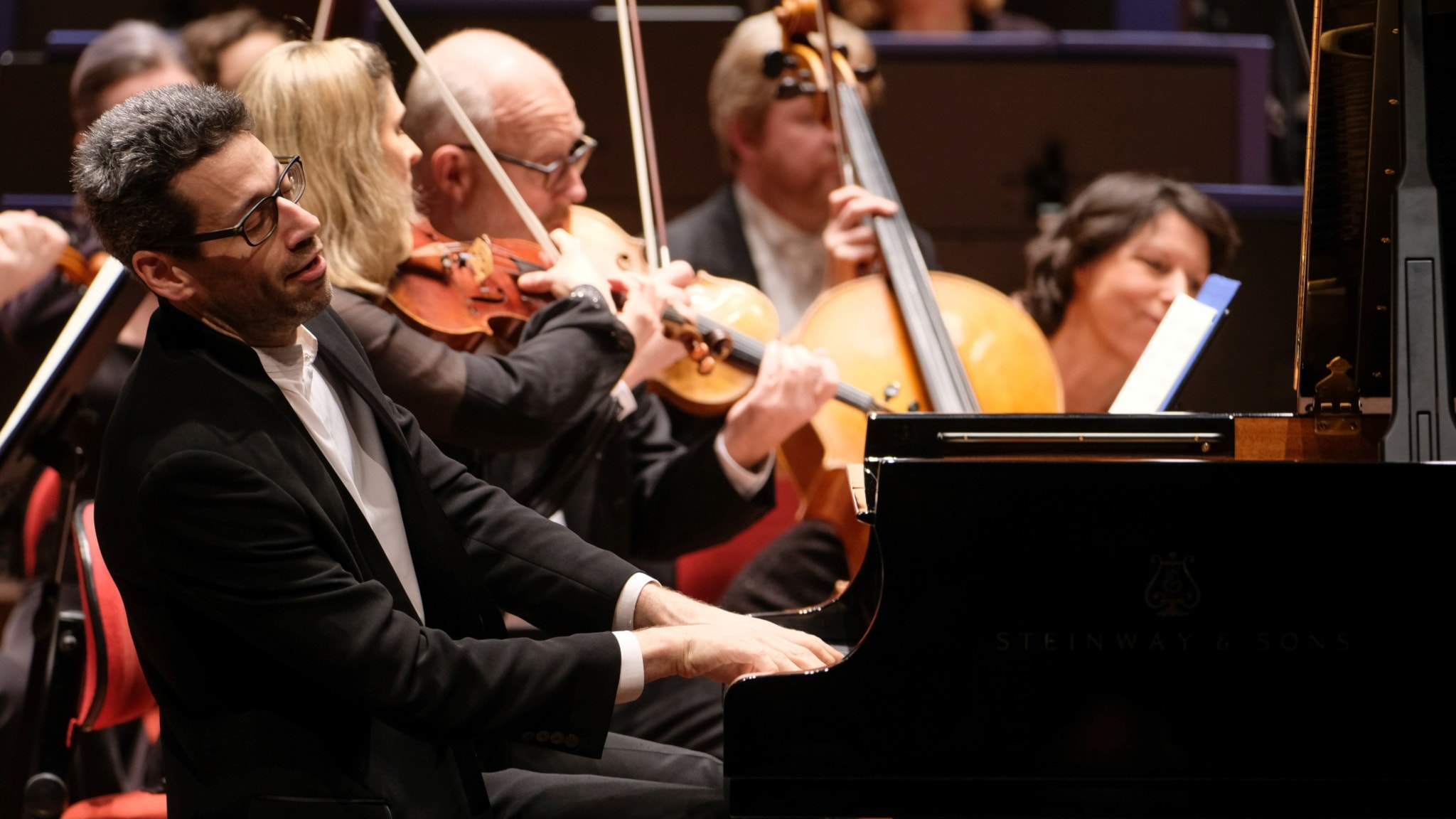 Bild: Jonathan Biss på piano
