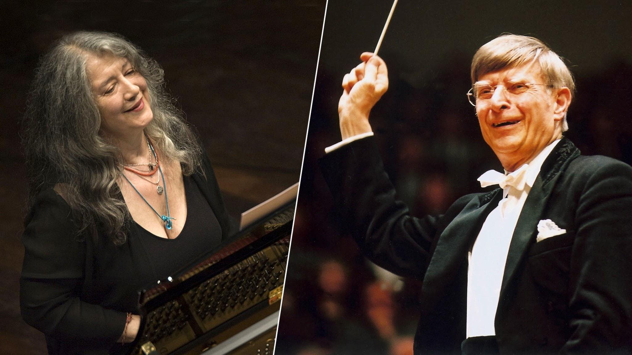 DIREKT: Herbert Blomstedt och Martha Argerich i Beethovens första pianokonsert