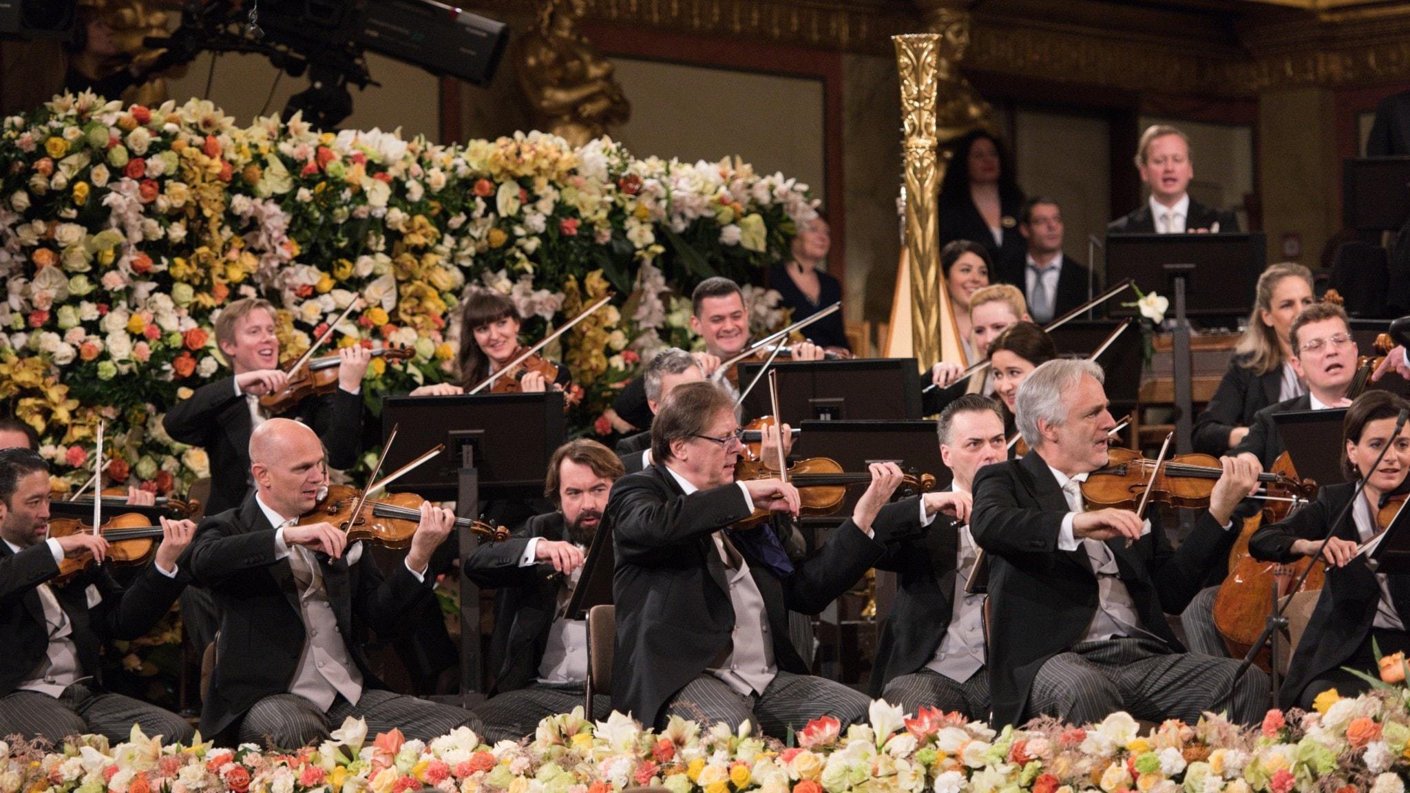 DIREKT: Nyårskonsert från Wien