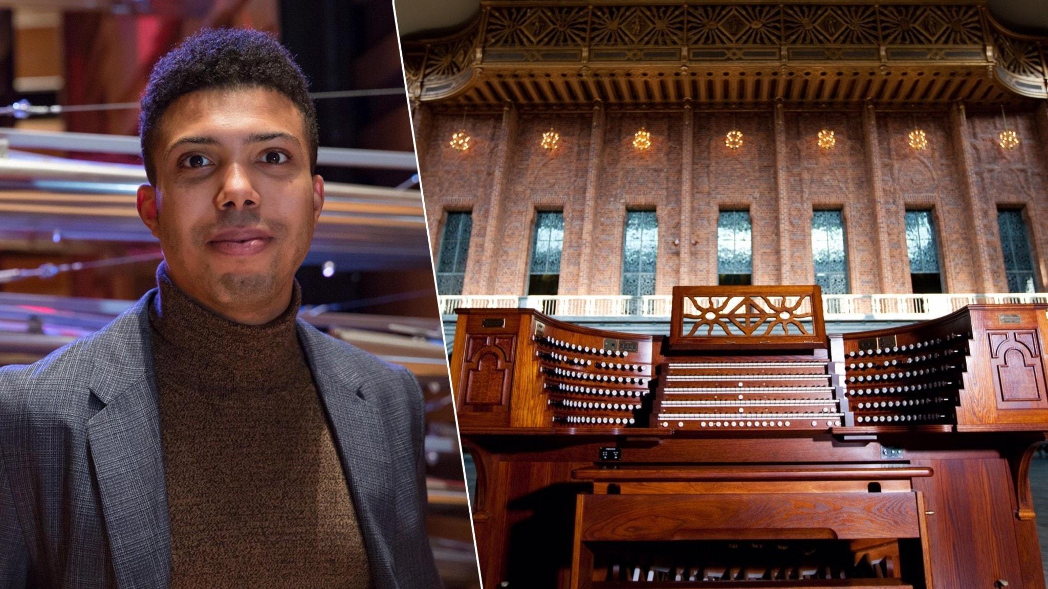 Alcée Chriss III spelar orgelmusik av Dupré, Rachmaninov och Reger