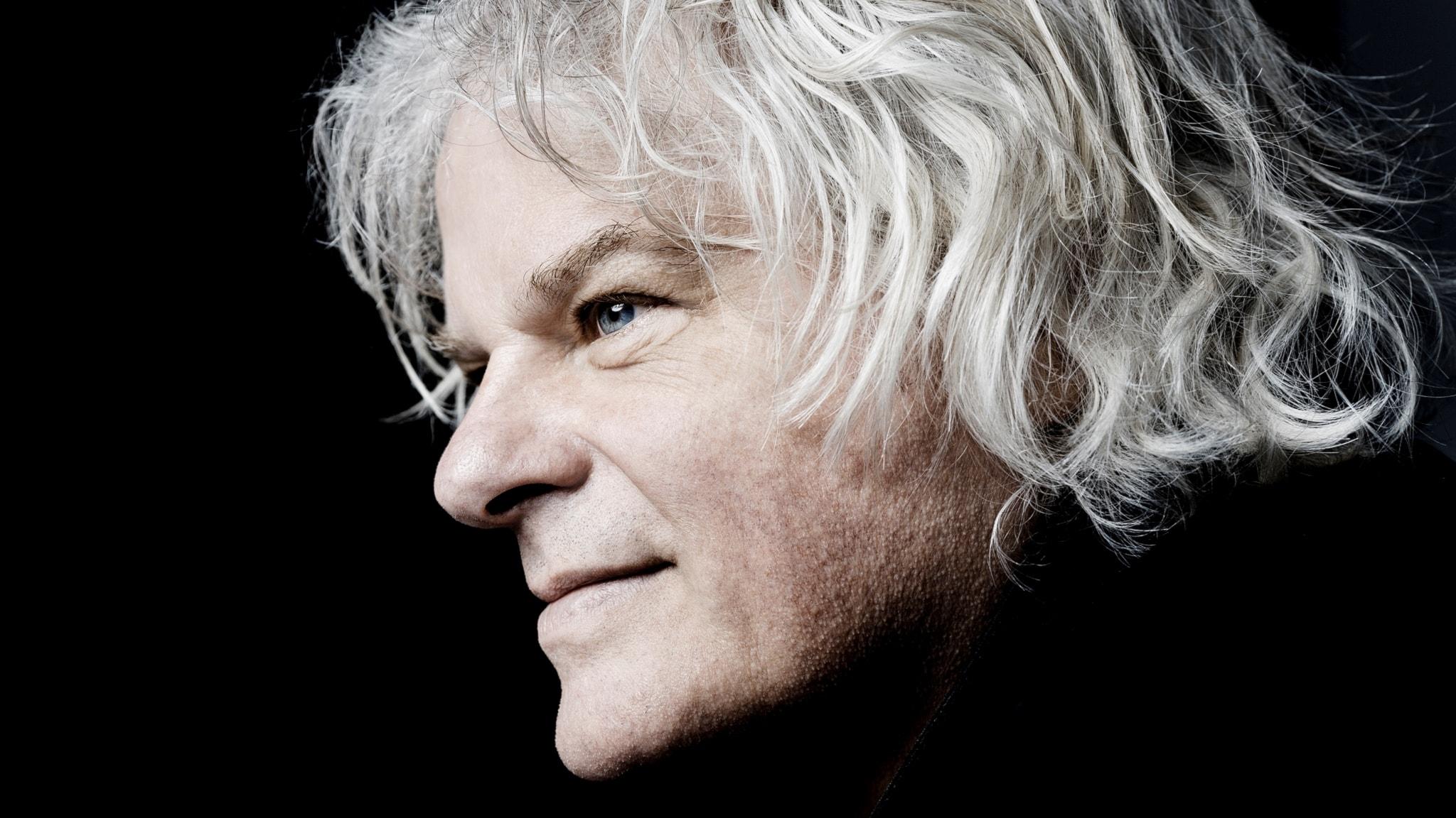 Den holländska pianisten Ronald Brautigam.