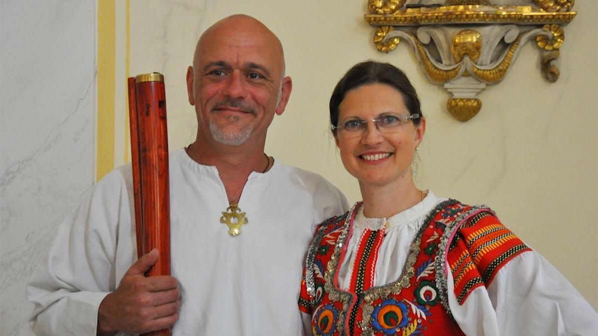 Michal Smétanka och Anna-Katarina Schatzl.