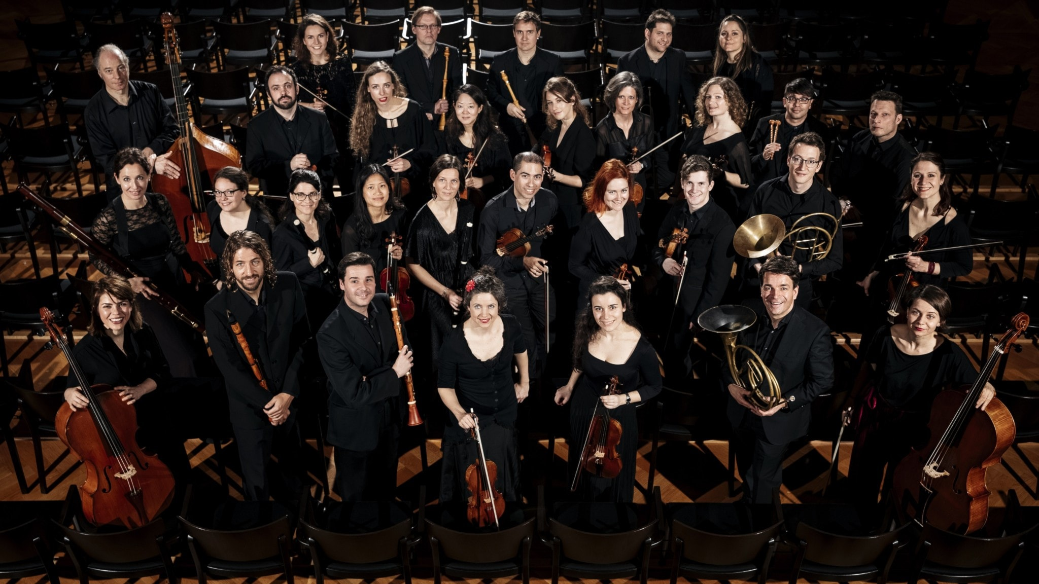 Bachs orkestersviter med Les passions de l'âme