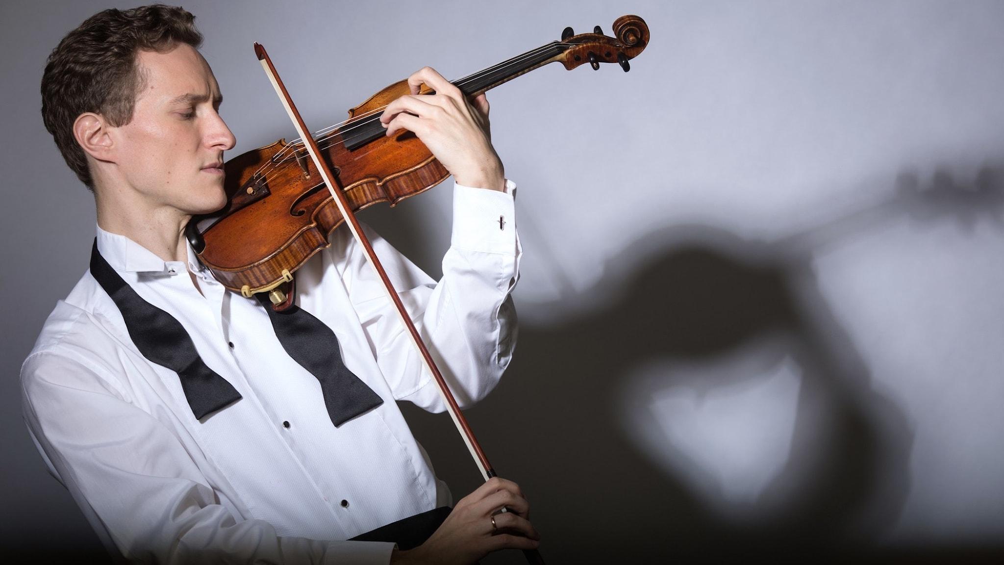 Bild: Violinisten Josef Špaček.