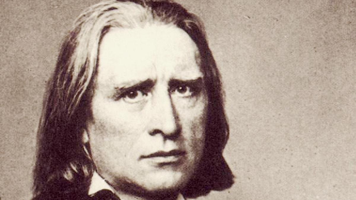 Franz Liszt. Foto: Wikimedia commons.