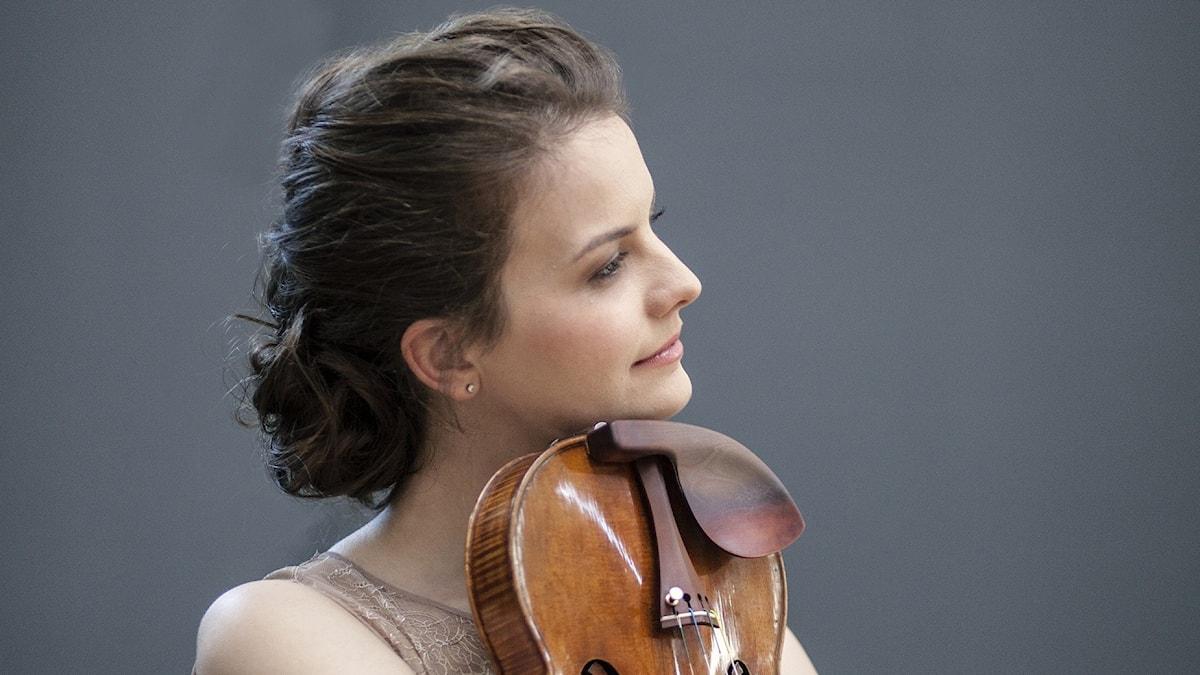 Bild: Violinisten Veronika Eberle.