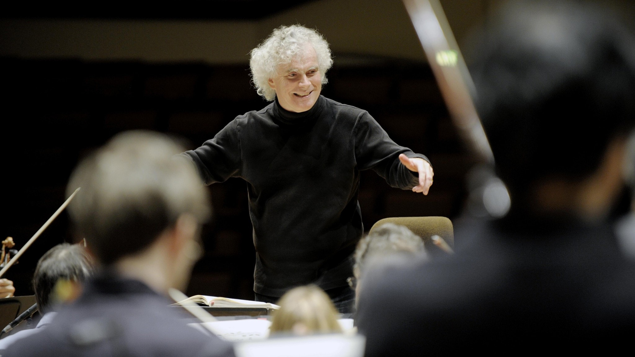 KONSERT: Simon Rattle dirigerar Londons symfoniorkester