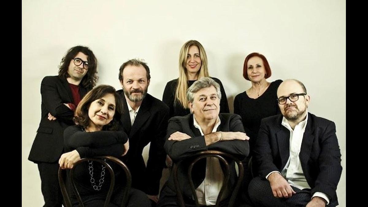 De italienska musikerna som spelar Bella Ciao igen efter 50 år.