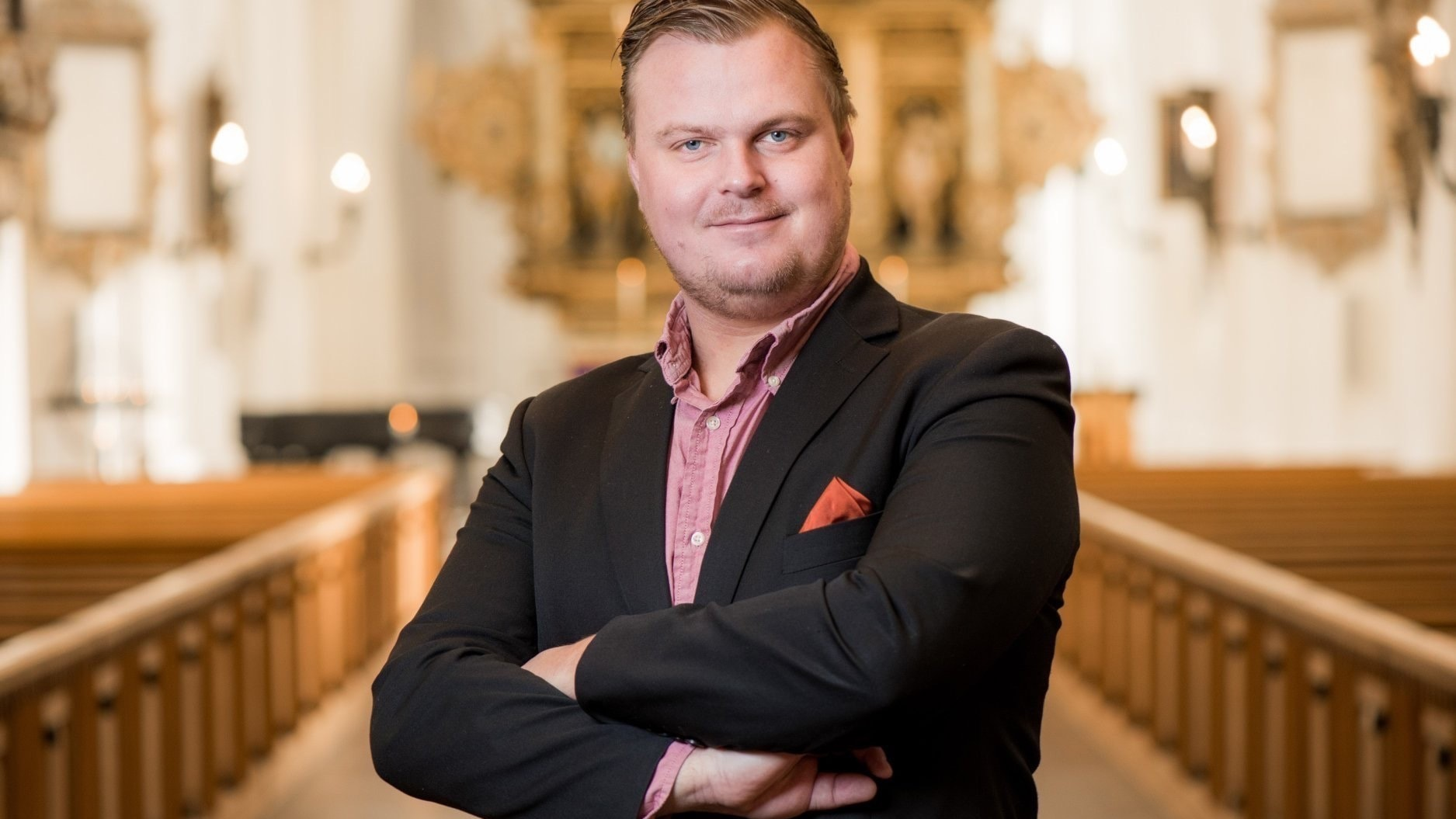 Carl Adam Landström spelar svensk orgelmusik