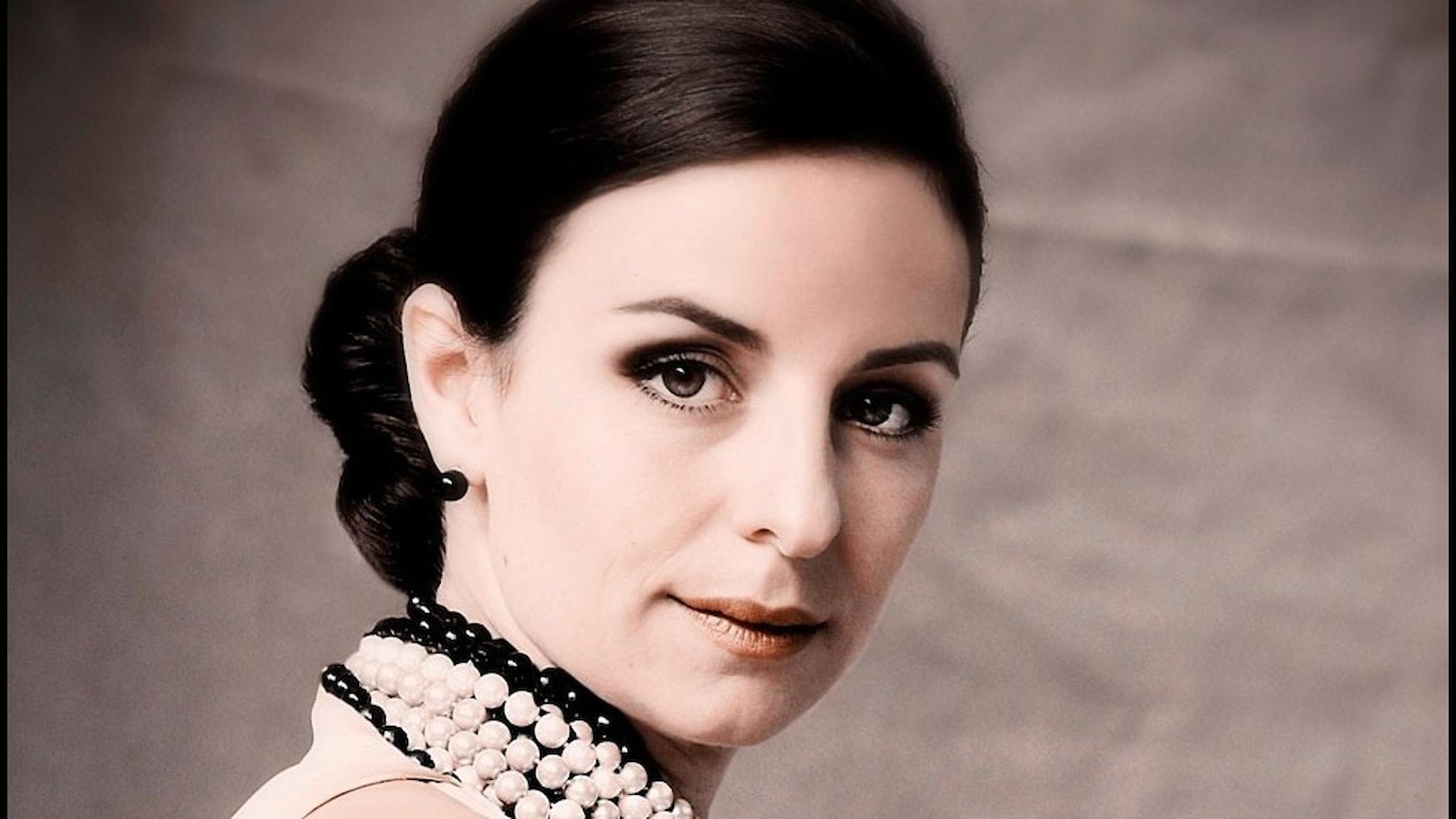 Den franska mezzosopranen Anaïk Morel