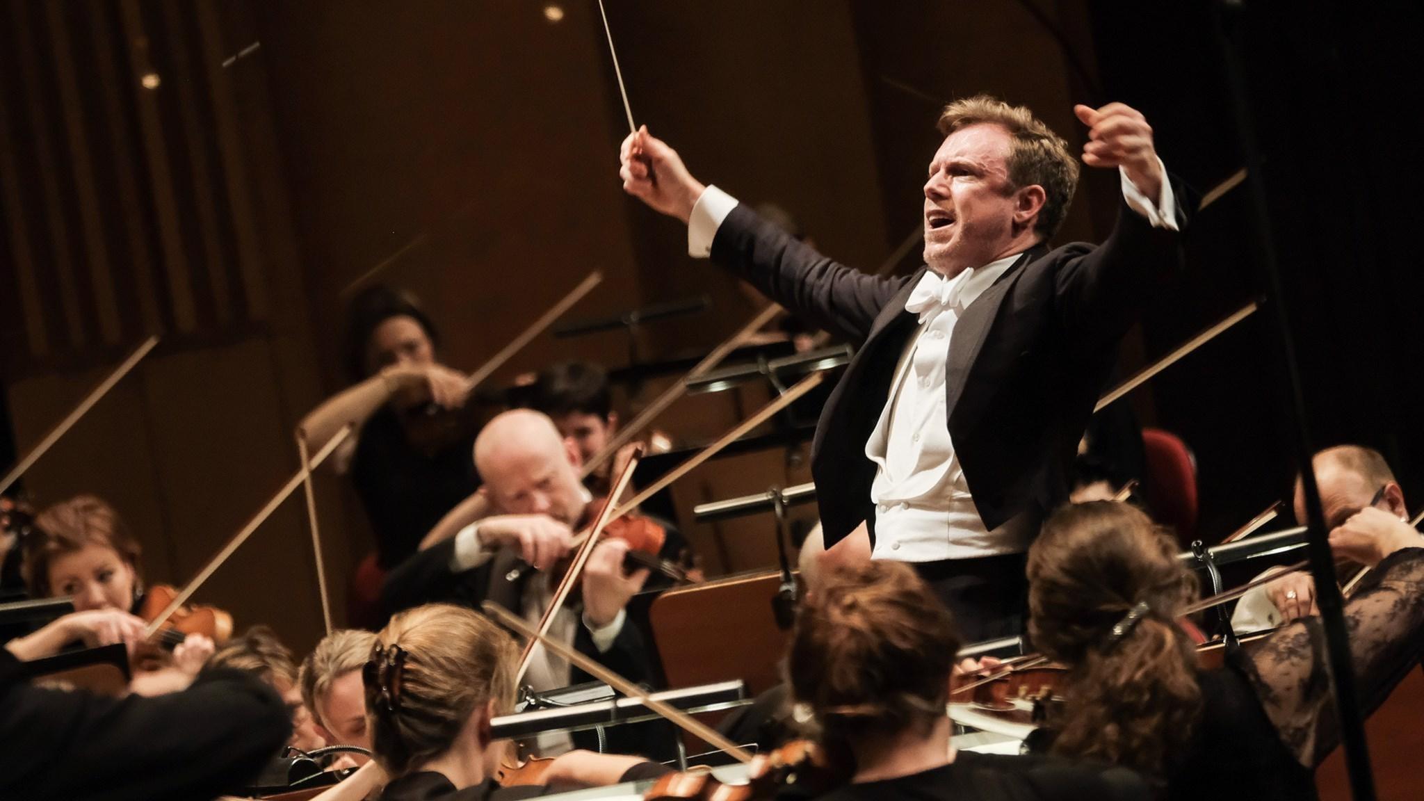 Daniel Harding, chefsdirigent Sveriges Radios Symfoniorkester.