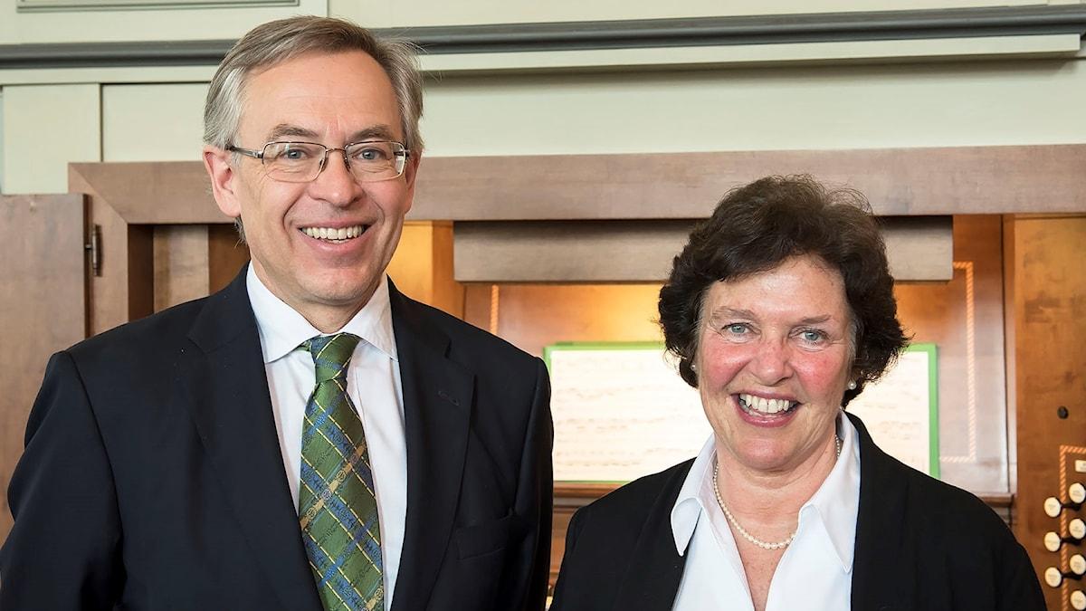 Per Gunnar Petersson och Mary Chard Petersson.