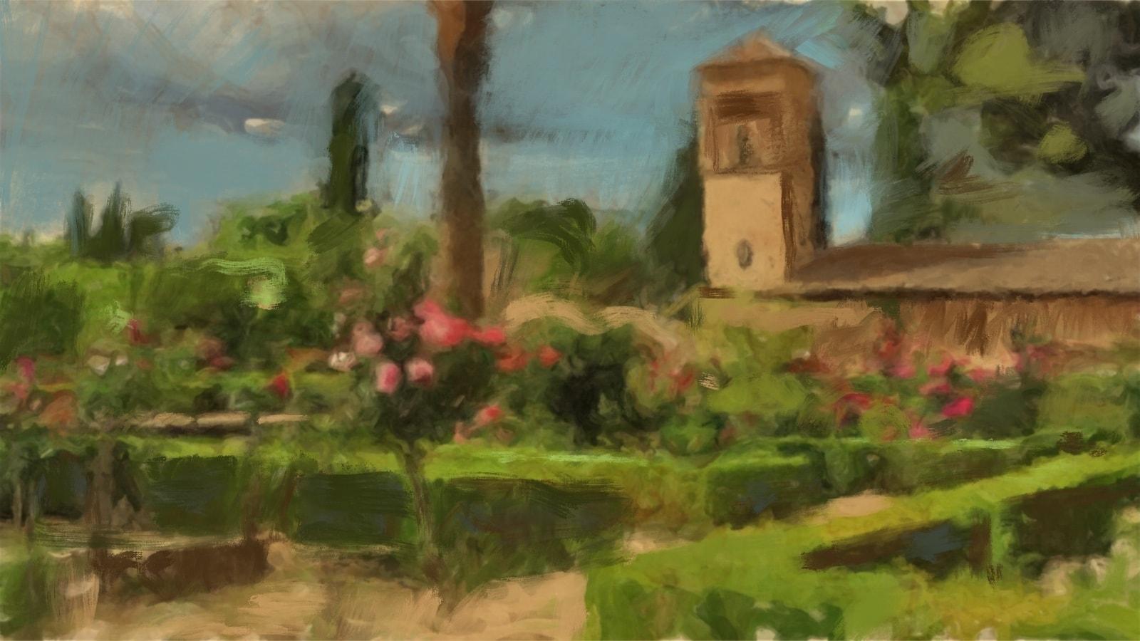 Spanska trädgårdar