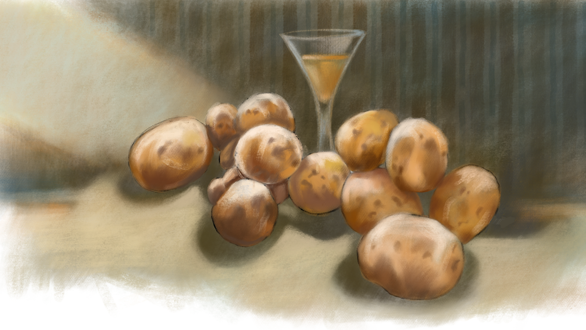 Potatis med spetsglas - Mats Ceder