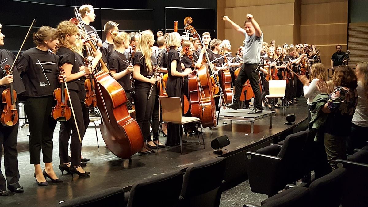 Vi gjorde det! Kristjan Järvi och Baltic Sea Philharmonic.