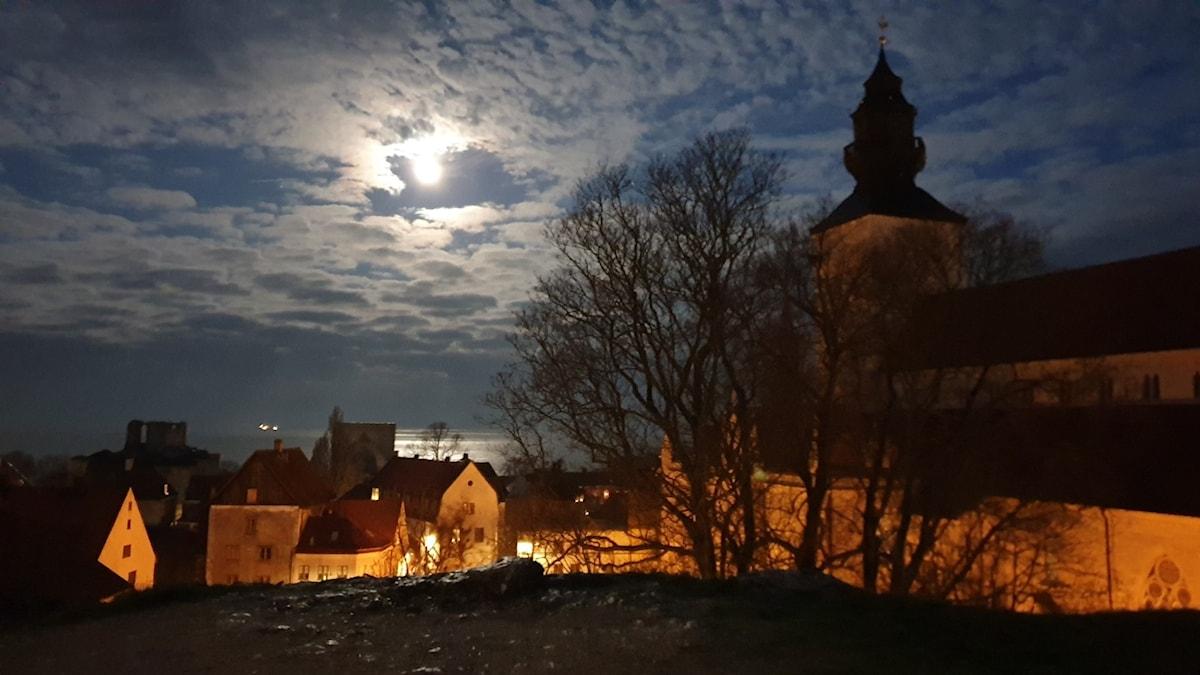 Decembermorgon Visby 2019
