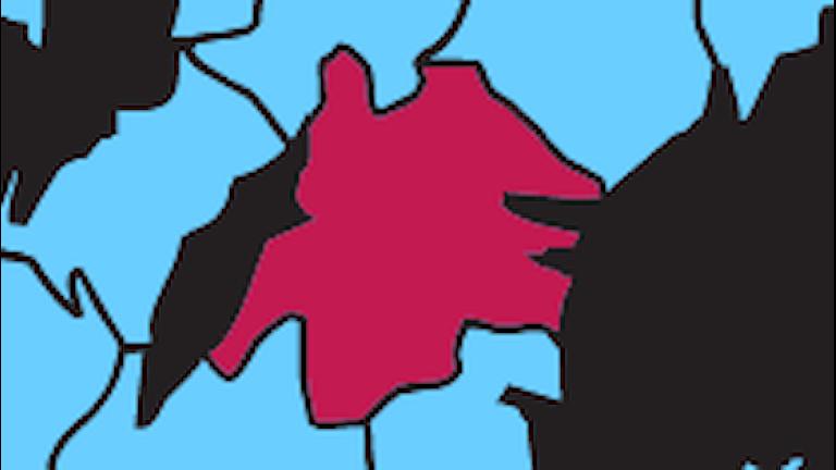 Karta P4 Östergötland