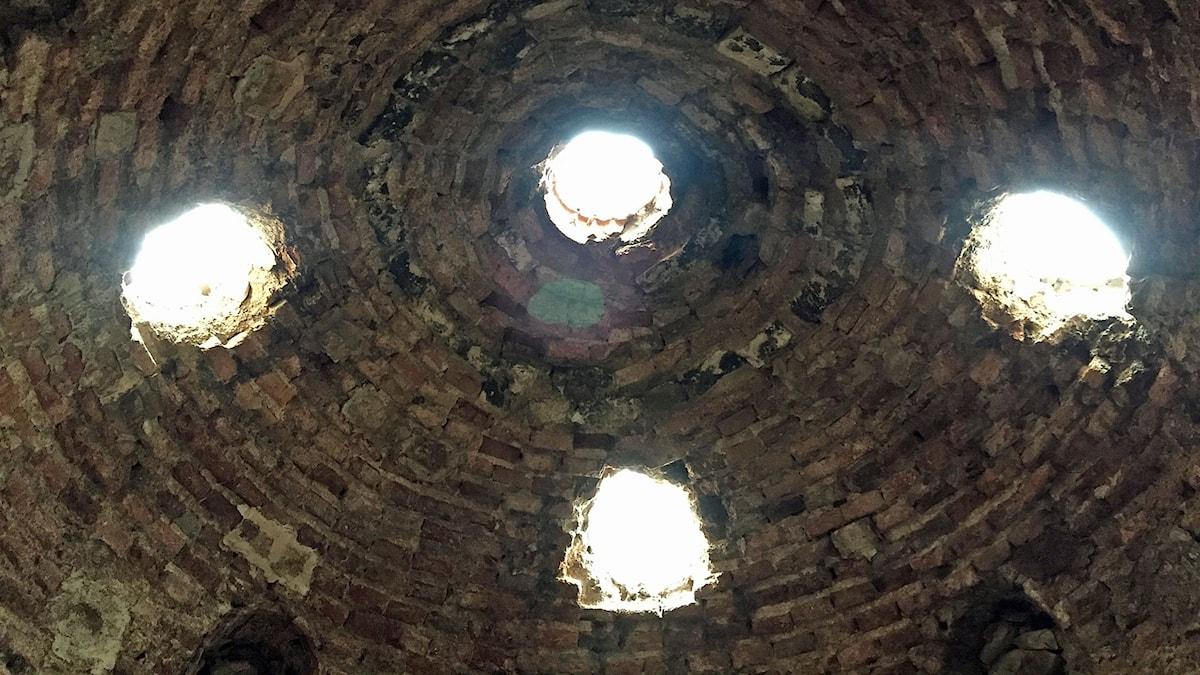Taket på Arabiska badet i Palma.
