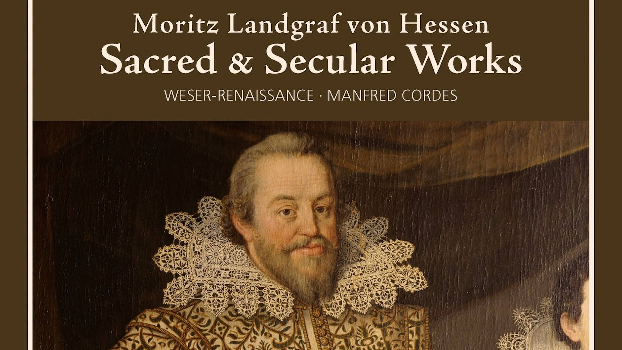 Omslag till Weser Renaissances album med musik av Moritz (Lantgraf von Hessen)