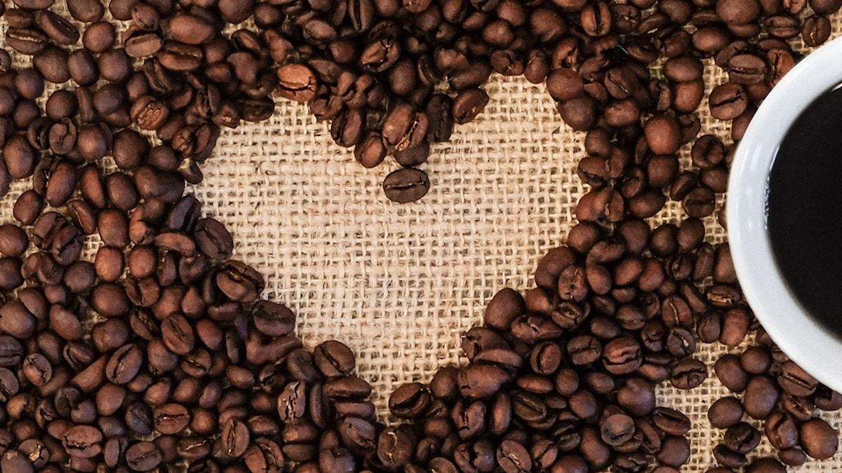 Hjärta och kaffe