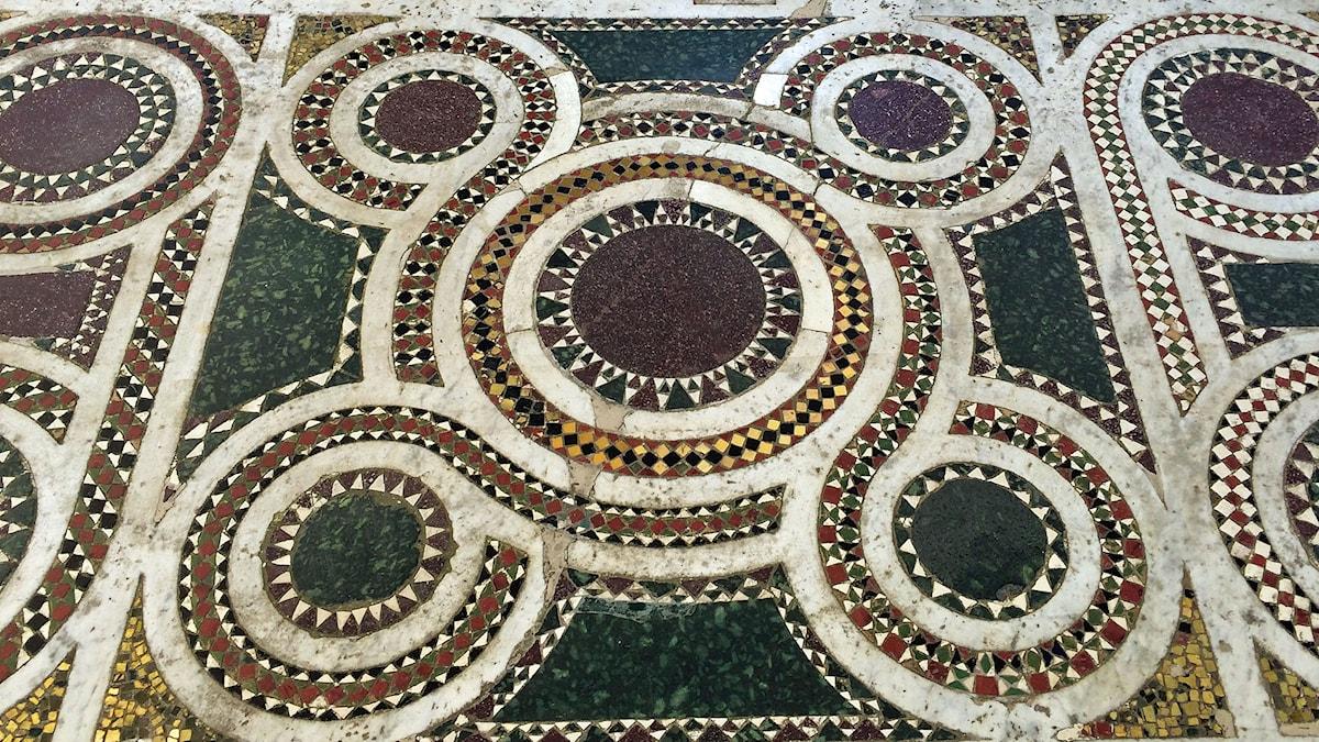 Mosaik - San Michele, Capri, Italien