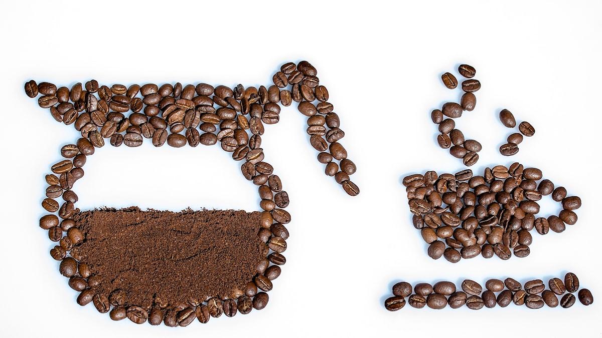 En god kopp kaffe på morgonen.