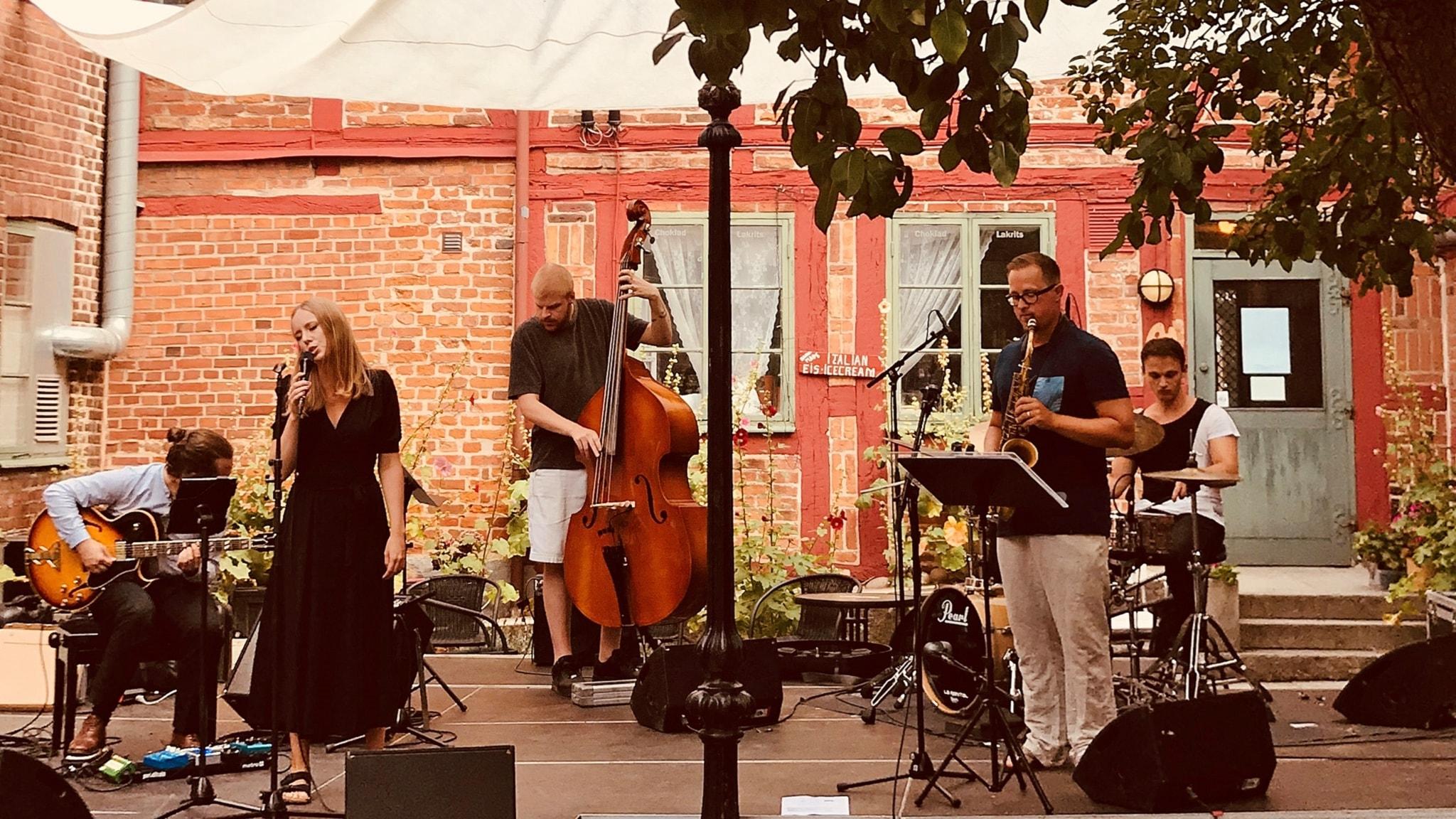 Ellen Andersson Quartet och ny nordisk jazz från hela världen